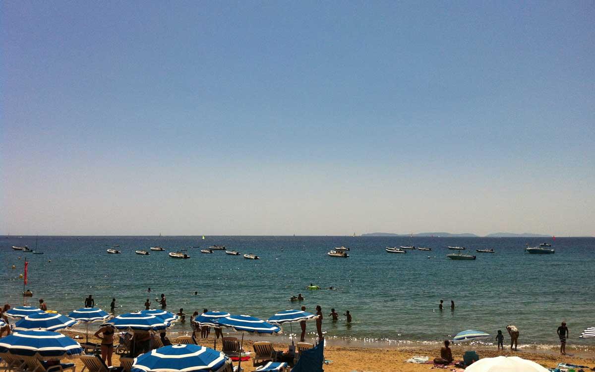 les plages de pampelonne