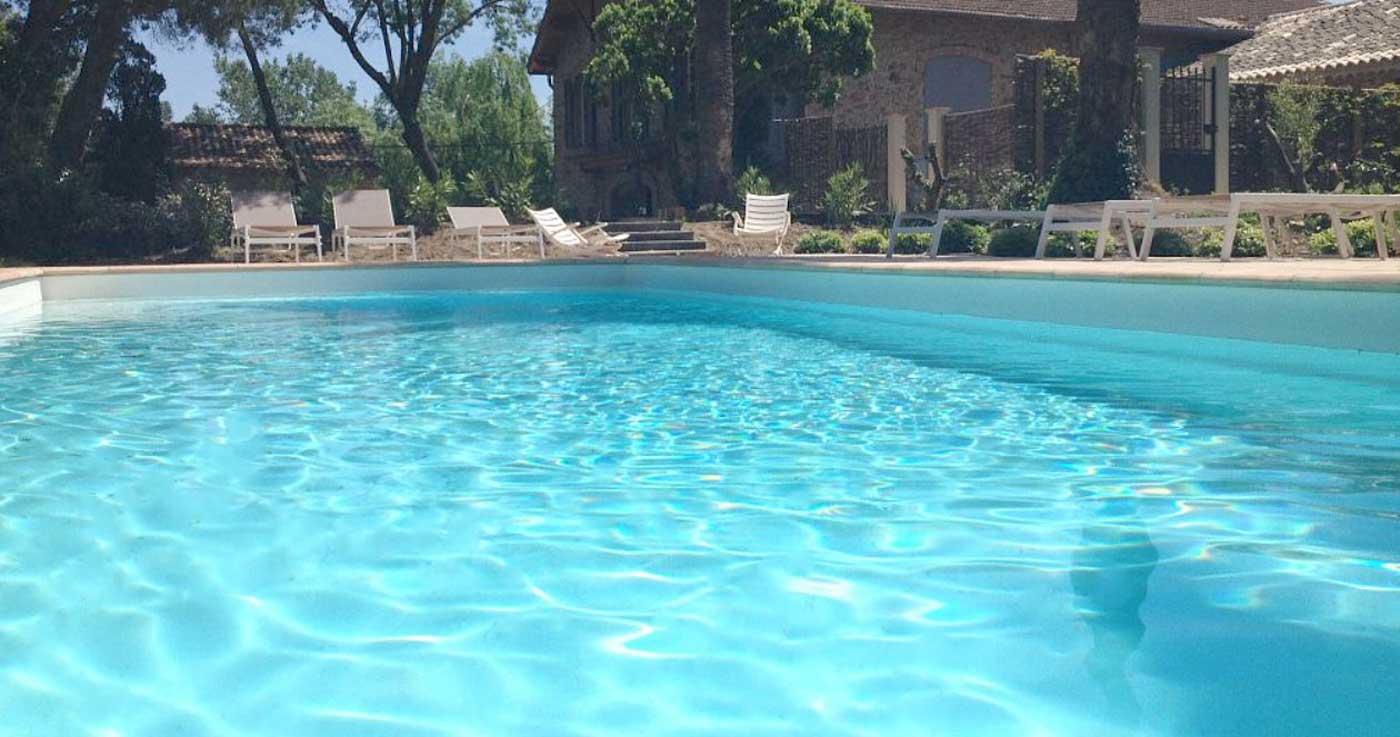 La piscine du Domaine des Parys